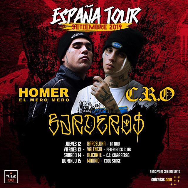 C.R.O. + Homer El Mero Mero + Bardero$