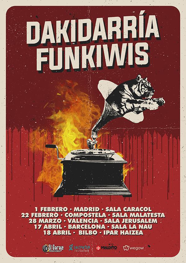Dakidarria + Funkiwis