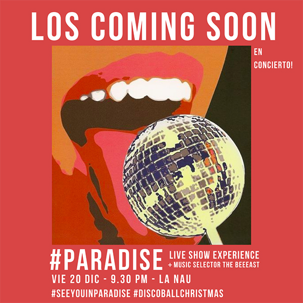 Los Coming Soon PARADISE