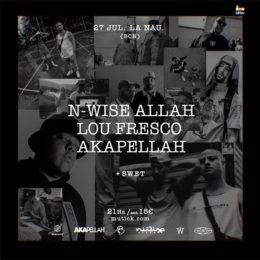 NWise & Lou Fresco & Akapellah