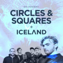Poster Square Circles & Iceland
