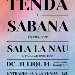 Cartell La Nau Tenda Sabana
